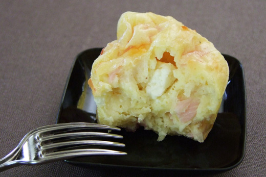 bouchée bacon feta gruyère
