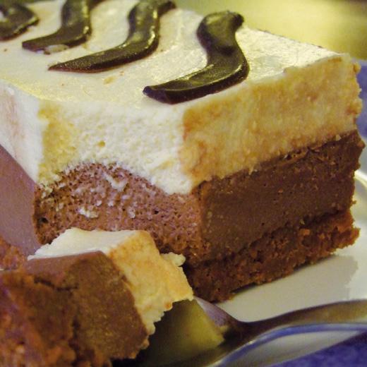 Bavarois vanille chocolat speculoos