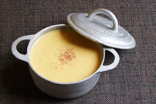 velouté potiron crème muscade