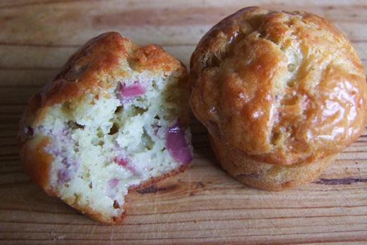 Minis muffins gésier roquefort