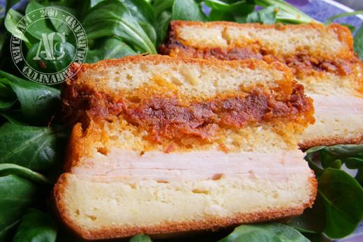 cake tomate sechee jambon