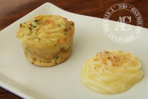 muffins courgette mozza